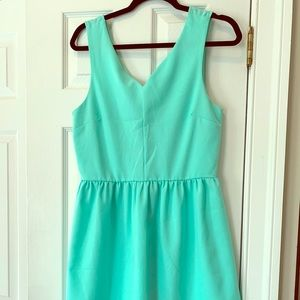 Everly Turquoise Dress